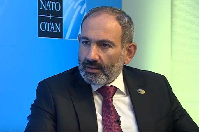 Paşinyanın adından NATO-ya məktub