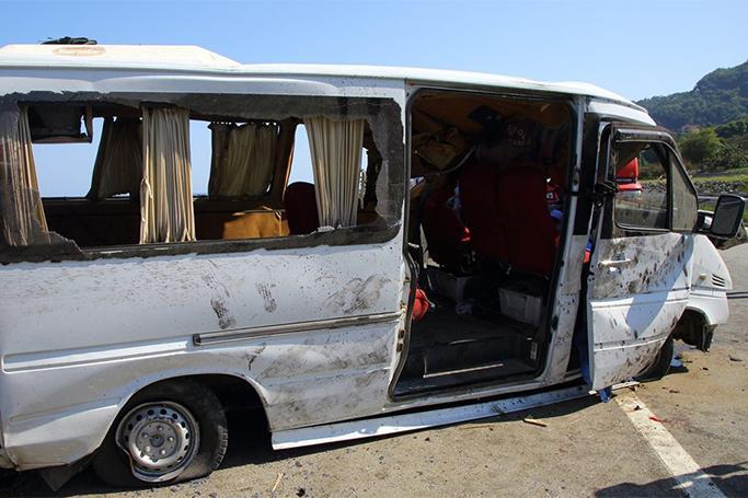 Türkiyədə avtobus aşdı …